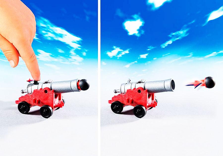 Disparo Canon Barco Corsario Playmobil