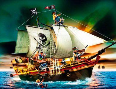 barco pirata de ataque playmobil 5135