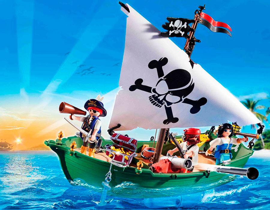 barco pirata playmobil 70151