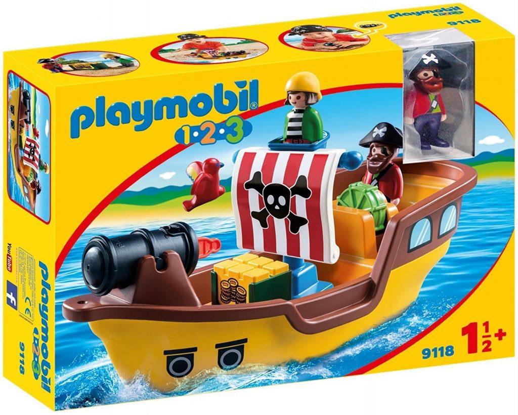 barco pirata playmobil 1-2-3 9118