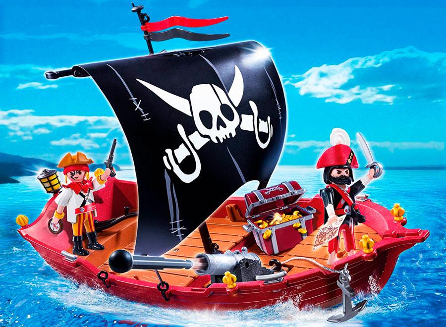 barco pirata playset 5298