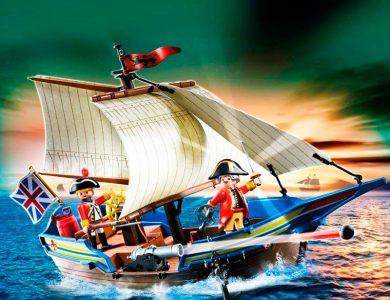 barco soldados playmobil 5140