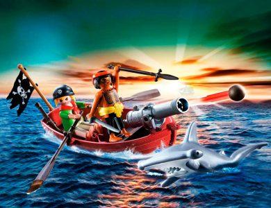 bote pirata tiburon playmobil 5137
