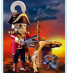 capitan pirata parche Playmobil