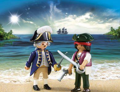 duo pirata soldado playmobil 6846