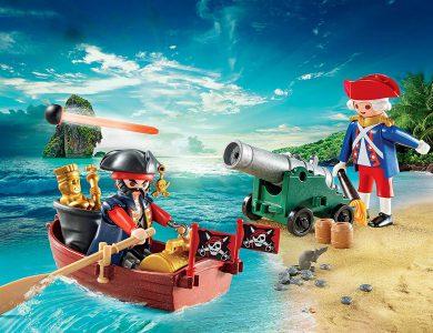 maletin pirata y soldado playmobil 9102