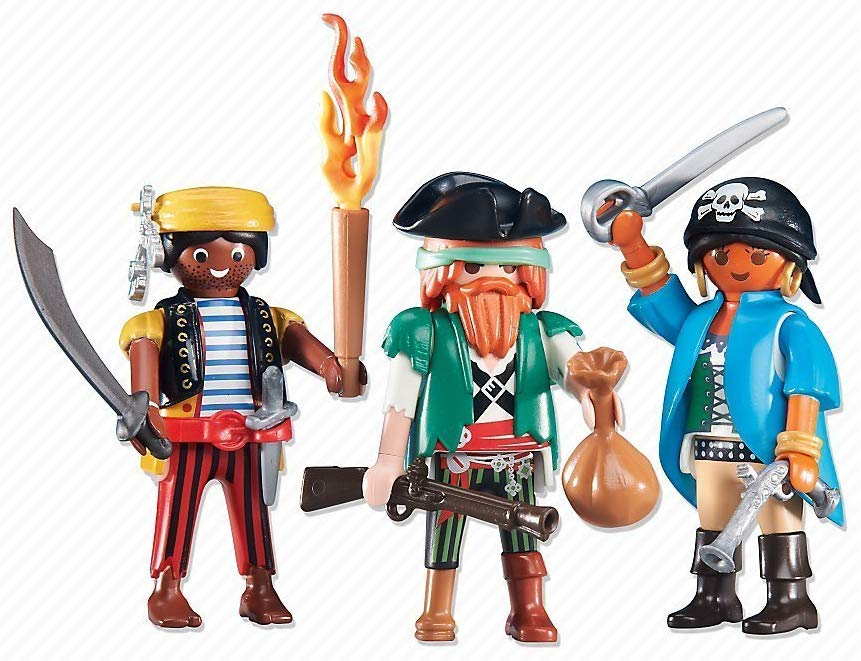 trio piratas playmobil 6434