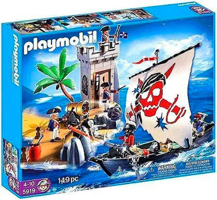 bastion pirata playmobil