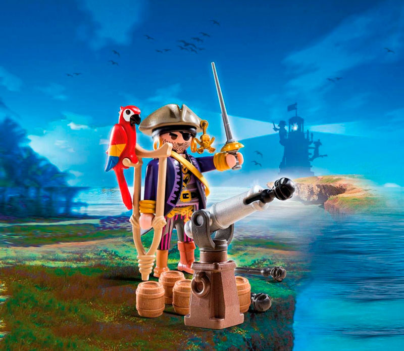 capitan pirata playmobil 66840