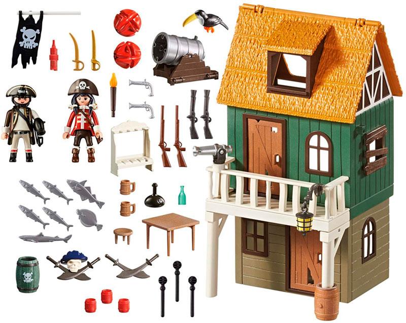 fuerte pirata camuflado 4796 piezas