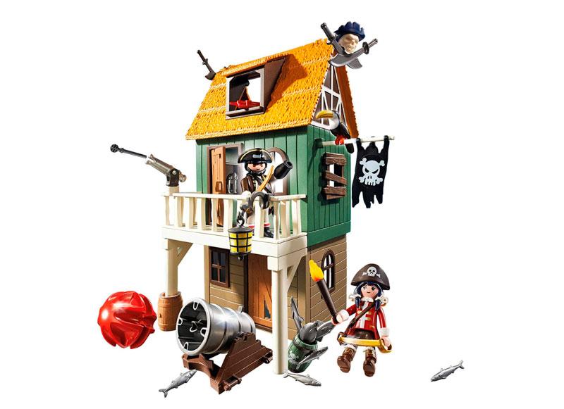 fuerte pirata camuflado 4796