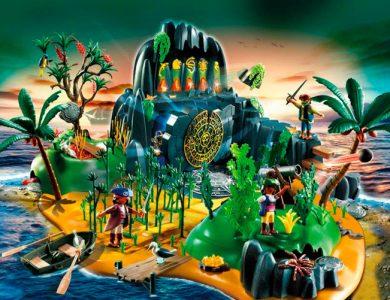 isla misteriosa piratas playmobil 626690