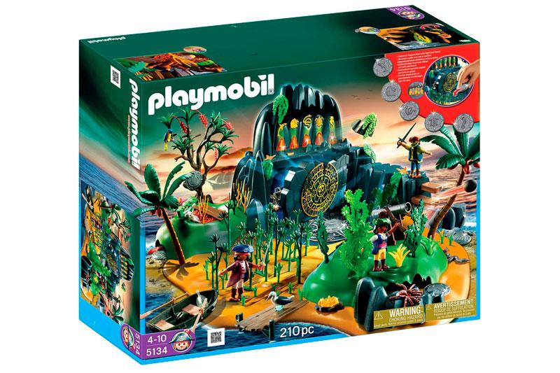 isla misteriosa piratas playmobil 626690 caja