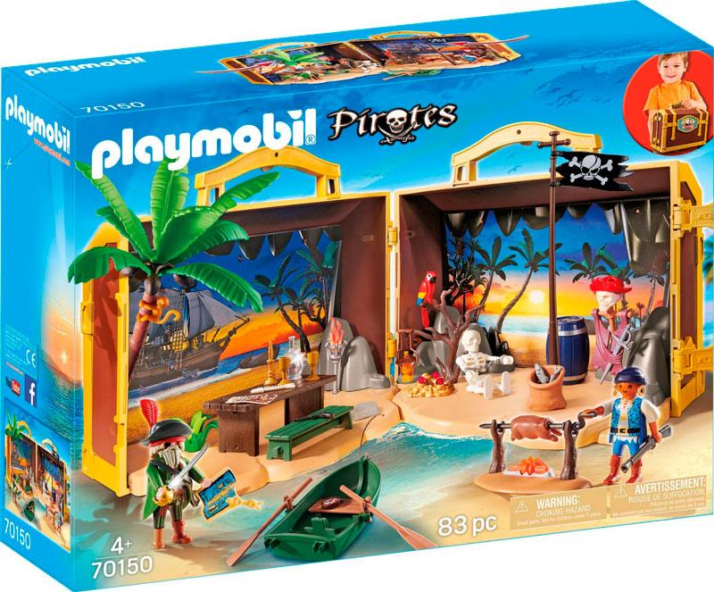 maletin isla pirata playmobil 70150 caja