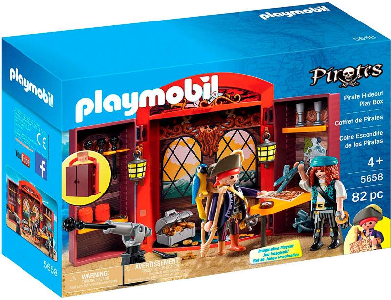 Camarote pirata playmobil caja