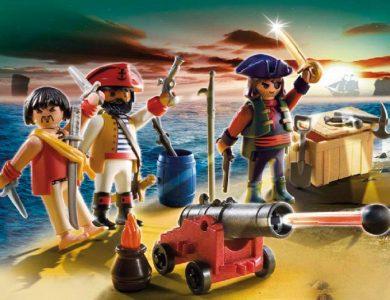 tripulacion pirata playmobil 5136